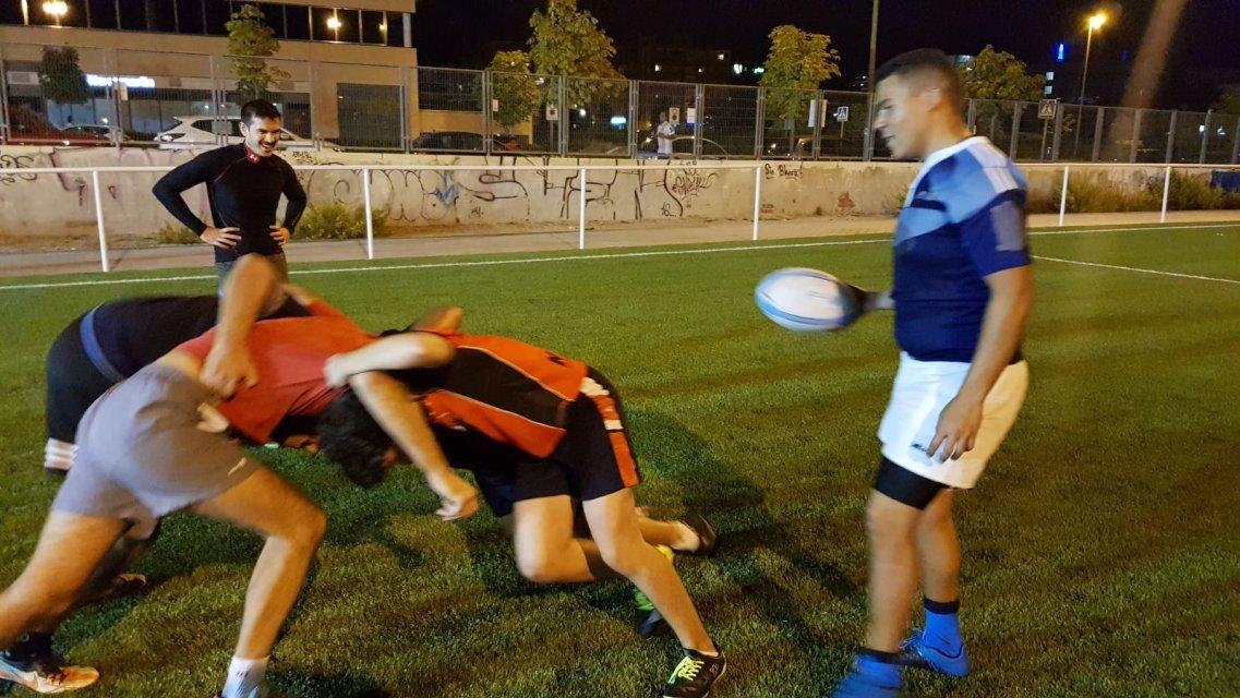 Osos del pardo rugby club buscando gimnasio en las for Gimnasio las tablas